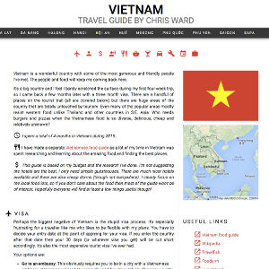 Vietnam Travel Guide IN PROGRESS